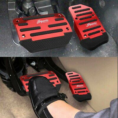 $11.99 • Buy Universal 2pcs Non-Slip Automatic Gas Brake Foot Pedal Pad Cover Accessories Kit