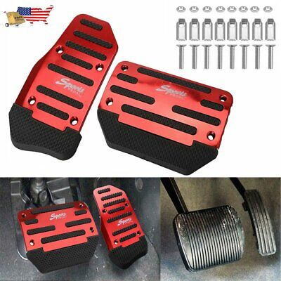 $10.99 • Buy 1SET Universal Non-Slip Automatic Gas Brake Foot Pedal Pad Cover Car Accessories