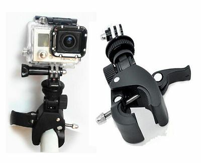 $ CDN7.64 • Buy For Gopro Hero 3 2 1 Accessories Bike Motorcycle ATV Mount With Tripod Adaptor
