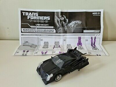 Transformers Prime Tfp Decepticon Vehicon With Gun And Instructions • 26£