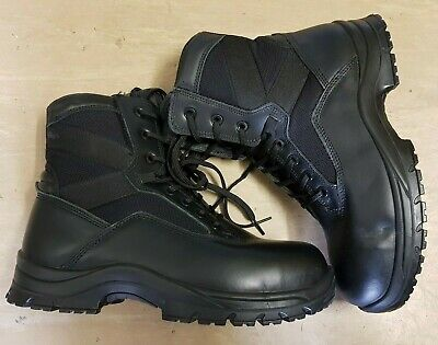 New British Army Issue Goliath YDS Black Steel Toe Cap Tactical Boots Size 5 NB • 31.95£