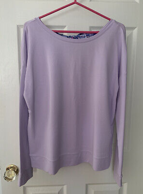 $30.99 • Buy NWT Lilly Pulitzer Dillon Pullover Light Lilac Verbena Size M