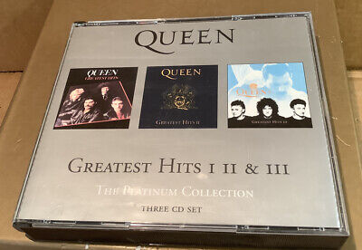 £10 • Buy Queen Greates Hits 1-2-3 Platinum Collection CD