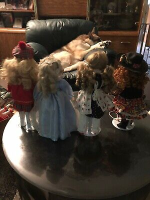 $ CDN67.67 • Buy Porcelain Doll Lot Of 4