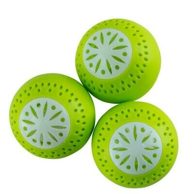 Fridge Refrigerator Freshener Ecoballs Deodoriser Balls Removes Food Odour Smell • 6.03£