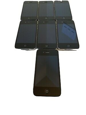 $ CDN169.16 • Buy Lot Of 7 Apple IPhone 4 A1332 (3)32GB & (4) 8GB Black (GSM) Smartphones