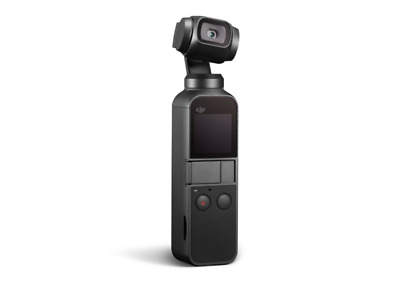 $200 • Buy DJI Osmo Pocket 3-Axis Stabilizer And 4K Handheld Camera