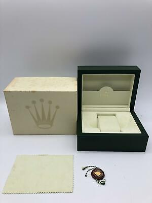 $ CDN116.07 • Buy Rolex Genuine Watch Box Case 30.00.02 Small Color Moss Green 0630010
