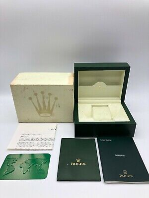 $ CDN113.49 • Buy Rolex Genuine Watch Box Case 30.00.02 Small Card Case User's Manual..0630012