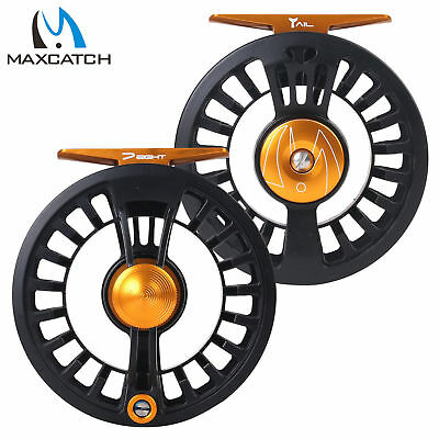 $ CDN54.08 • Buy Maxcatch Tail 3/4 5/6 7/8wt Light Weight Fly Fishing Reel Large Arbor