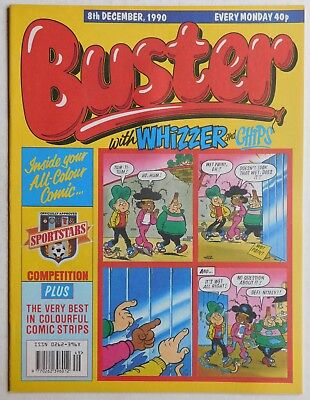 BUSTER COMIC - 8th December 1990 • 2.99£