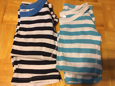 $8 • Buy Hanna Andersson 140 Pajamas, Short Sleeved, Lot Of 2