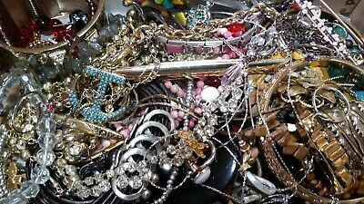 $ CDN20.37 • Buy #1 Vintage To Now Estate Find Jewelry Lot Junk Drawer Unsearched Untested Wear