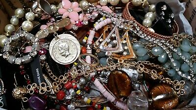 $ CDN20.37 • Buy #6 Vintage To Now Estate Find Jewelry Lot Junk Drawer Unsearched Untested Wear