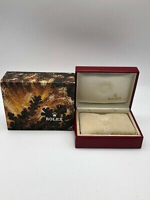 $ CDN61.90 • Buy Rolex Genuine Datejust 69173 Watch Box Case 14.00.02 Color Red 0630016