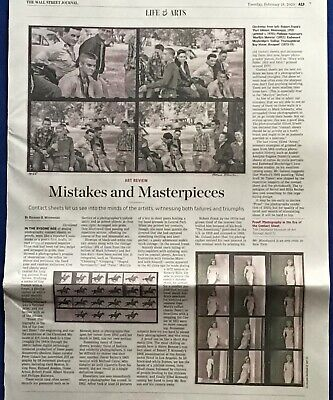 $3.95 • Buy Wall Street Journal Art Review Article CONTACT SHEETS Cleveland Museum Of Art