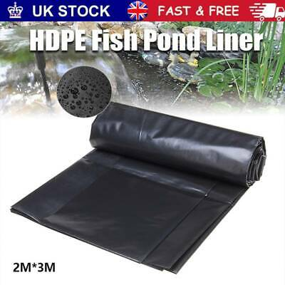 Fish Pond Liner Pools Garden HDPE Membrane Reinforced Guaranty Landscaping New • 16.66£