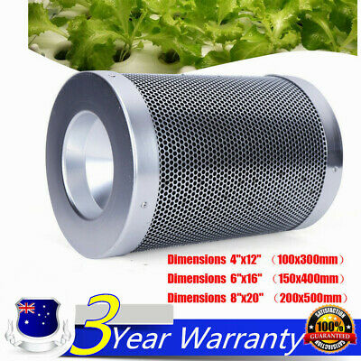 AU94.09 • Buy 4  6  Hydroponic Activated Carbon Filter Vent Duct Fan Grow Tent Ventilation