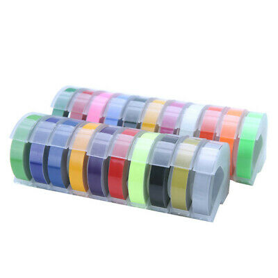 New 3D Plastic Embossing Label Maker Tape Compatible 9mm*3m For DYMO 1610 12965 • 12.49£