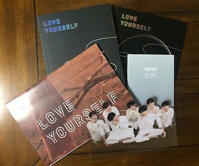 $12 • Buy BTS Official Love Yourself: Tear Album (Y Version) Includes Notes/Poster/Standee