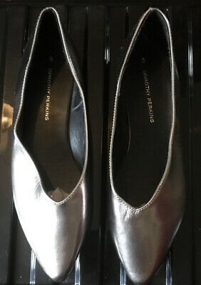 Dorothy Perkins Size 8 Pewter Shoes • 0.99£