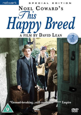 THIS HAPPY BREED. John Mills. 2 Discs. New Sealed DVD. • 12.49£