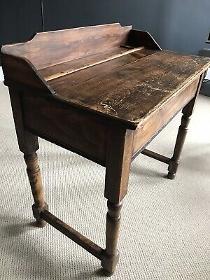 Antique Wooden School Desk • 60£