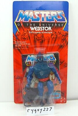 $595 • Buy MOTU, Webstor, Clear, Masters Of The Universe, MOC, Carded, Figure, Sealed, MOSC