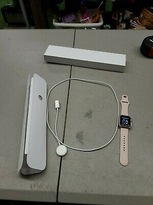 $ CDN122.45 • Buy  Apple Watch Series 1 38mm Rose Gold Aluminum Case Pink Sand Sport Band