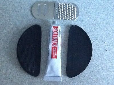 Soltrack Stick On Heel Tips Kit, With Glue And File • 2.85£
