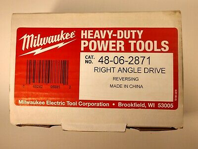 $50 • Buy Milwaukee 48-06-2872 Two Speed Right Angle Drive Unit Drill Attachment