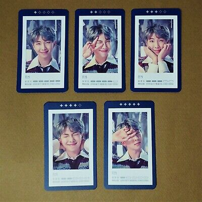 $39.99 • Buy BTS 5th Muster Magic Shop [RM] GUESTBOOK CARD Set