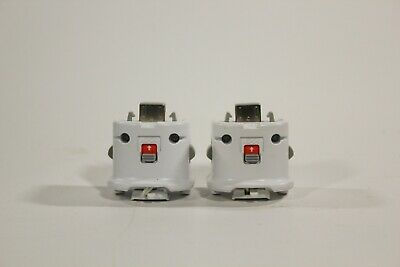 $ CDN32.94 • Buy 2 Authentic OEM Nintendo Wii Motion Plus Remote Adapters Attachments Controller