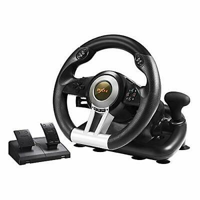 $120.45 • Buy Xbox One Steering Wheel And Pedal Set Racing Gaming Simulator Driving Real