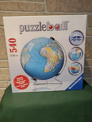 $64.81 • Buy New Ravensburger The Earth 3D Jigsaw Puzzle Ball World Globe 540 Pieces Stand