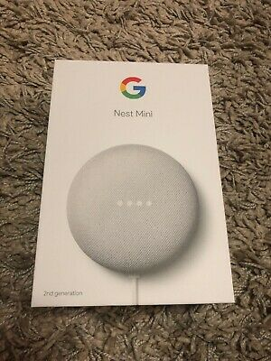 AU32 • Buy Google Nest Mini (2nd Generation) Smart Speaker - Chalk