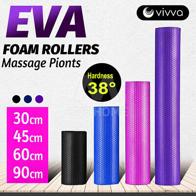 AU23.99 • Buy VIVVA EVA Trigger Foam Roller Physio Massage Muscle Relax Exercise Yoga Fitness