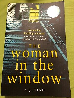 AU8 • Buy The Woman In The Window By A.J. Finn (Large Paperback Book) As New