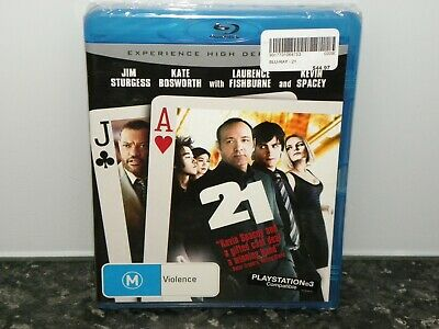 AU9.95 • Buy 21 -Kevin Spacey - Laurence Fishburne - Blu - Ray New & Sealed
