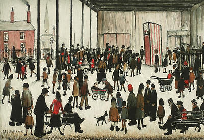 LS Lowry Framed Print – Punch And Judy (Picture Painting English Artist Artwork) • 7.95£