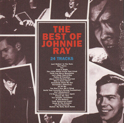The Best Of Johnnie Ray CD (Columbia, 1996) *VGC* • 3£