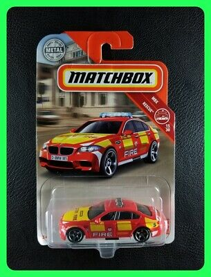 $3.99 • Buy Matchbox - BMW M5 (Red) [15/30 - MBX Rescue]