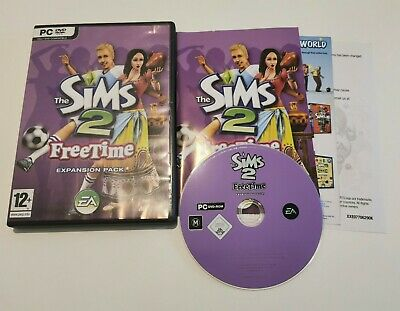 The SIMS 2: Free Time Expansion Pack (PC: Windows, 2008) • 7.99£