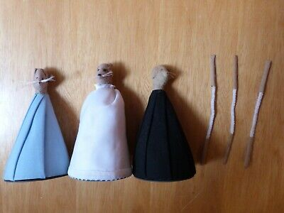 Mice Figures To Be Made Up With Arms Lot 3 • 3.50£