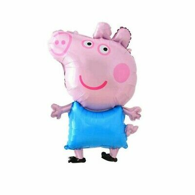 Peppa Pig George Pig 31  Helium/Air Foil Birthday Party Balloon Decoration • 3.50£