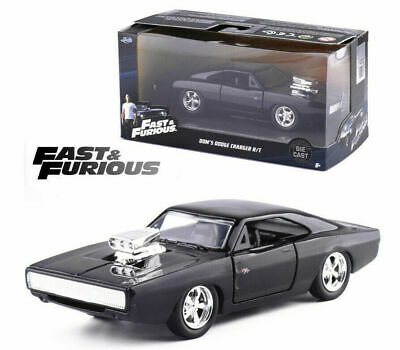 AU32.95 • Buy Jada 1:32 Fast And Furious Dom's 1970 Dodge Charger Rt Model Vehicle Car Diecast