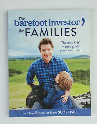 AU12 • Buy The Barefoot Investor For Families Paperback Step-by-Step Plan By Scott Pape