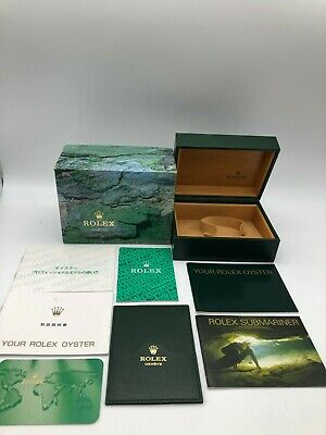 $ CDN219.25 • Buy Rolex Genuine Submariner 14060 Watch Box Case 64.00.02 Booklet Etc 0703002