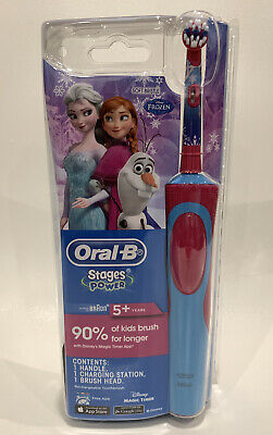 AU29.95 • Buy Oral B Vitality Power Electric Toothbrush Kids/ Girl Frozen