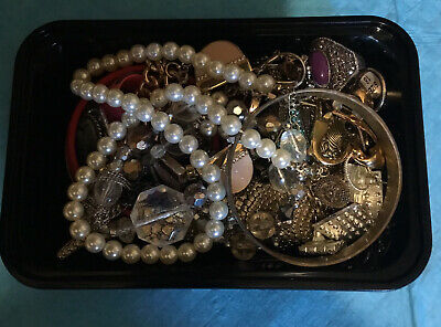 (7) Joblot Bundle Costume Jewellery Resell Wear Craft Mixed Lot • 12.40£